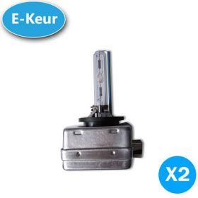 Xenon lampen D3S 5000K 25% up E-Keur