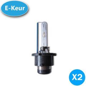 Xenon lampen D4S 5000K E-Keur